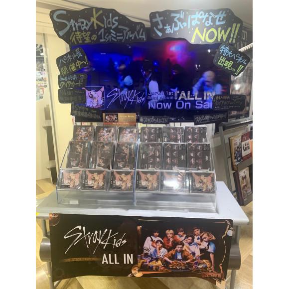 StrayKids JAPAN 1st Mini Album『ALL IN』絶賛発売中!