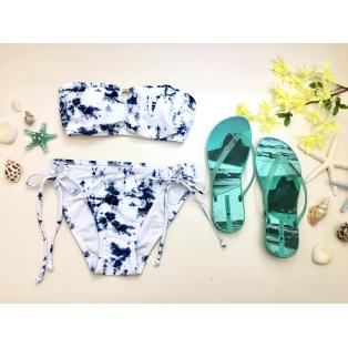 福岡・天神リゾート 水着ショップ PEAK&PINE福岡パルコ☆爽やかブルー×清楚ホワイトで大人の夏をっ♪
