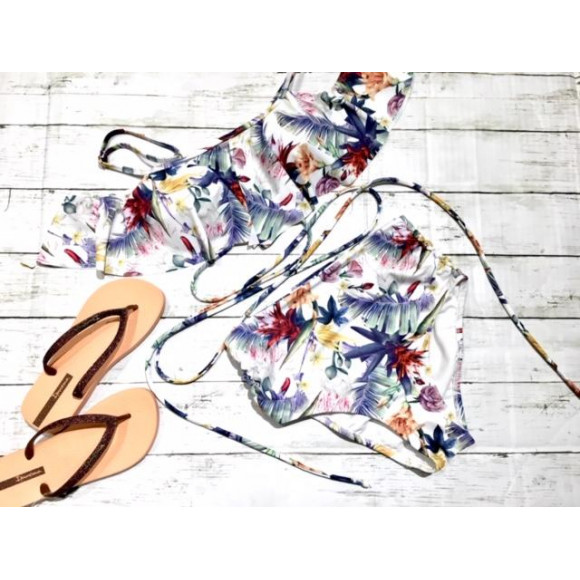 福岡・天神リゾート 水着ショップ PEAK&PINE福岡パルコ☆くすみカラーのボタニカル柄でオシャレ度UP☆