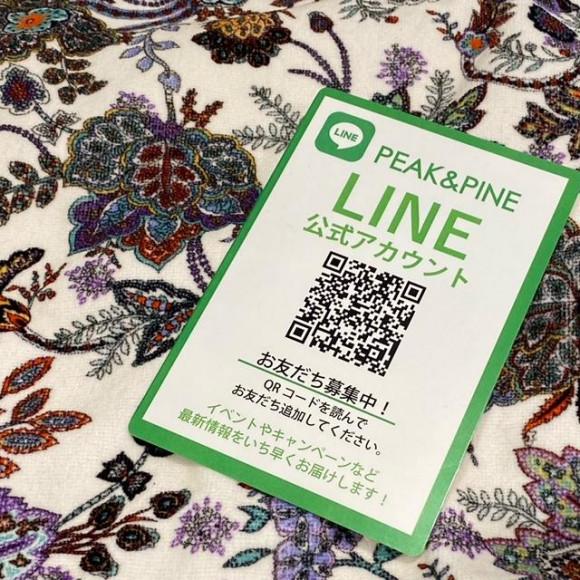 福岡・天神リゾート 水着ショップ PEAK&PINE 福岡パルコ店☆ PEAK&PINEから公式LINE登場♪