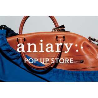 aniary POP UP STORE開催