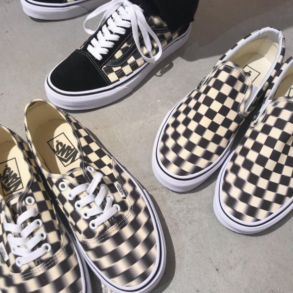 VANS ☆ BLUR CHECK PACK