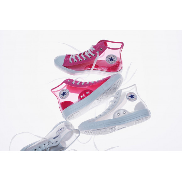 CONVERSE☆ALL STAR LIGHT CLEARMATERIAL HI