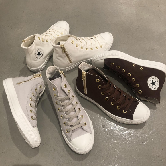 CONVERSE☆AS LIGHT GOLDZIP HI