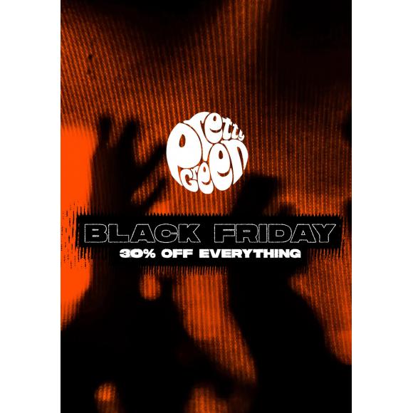 2018年ブラック・フライデー  BLACK FRIDAY CAMPAIGNが本日から始まります!30%oFF