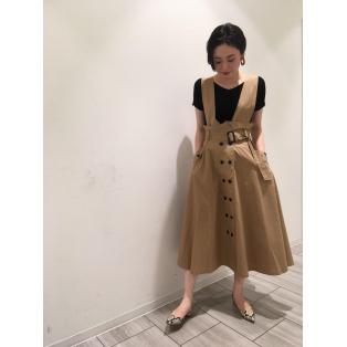 ☆トレンチジャンパースカート