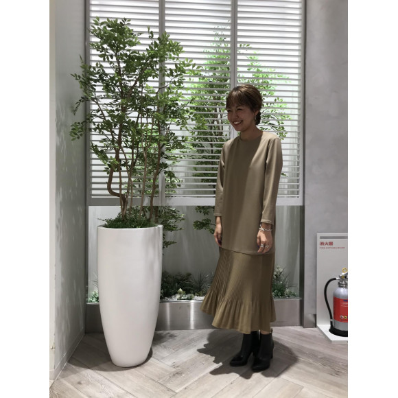 ☆【STELA CIFFON】プリーツワンピース