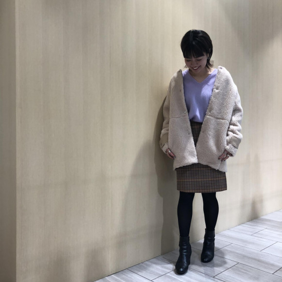 ☆ボアジャケットコート