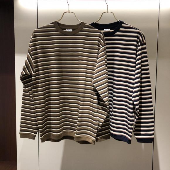 ORCIVAL / ボーダー リブ クルーネックシャツはいかがですか?