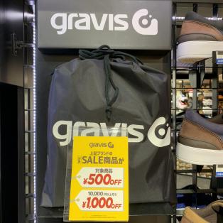 gravis / saucony セール☆★☆