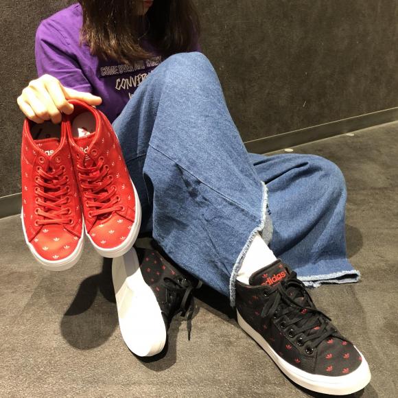 NEW!!【adidas COURTVANTAGE HEEL 】