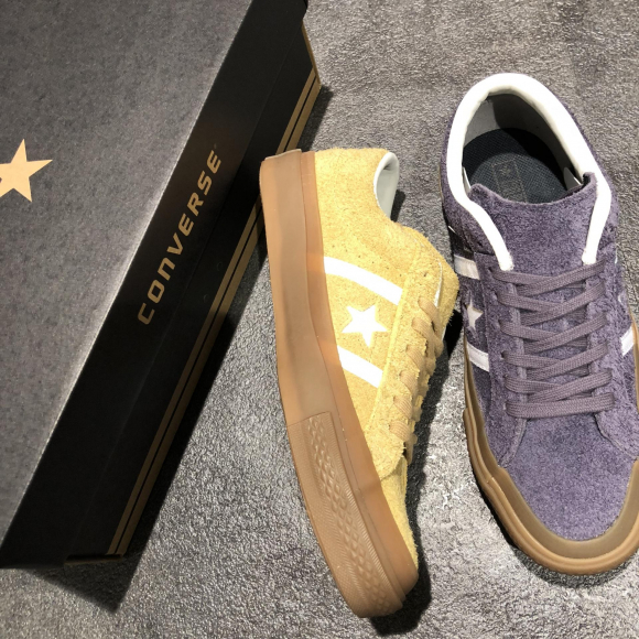 NEW!!【CONVERSE STAR&BARS SUEDE GM】