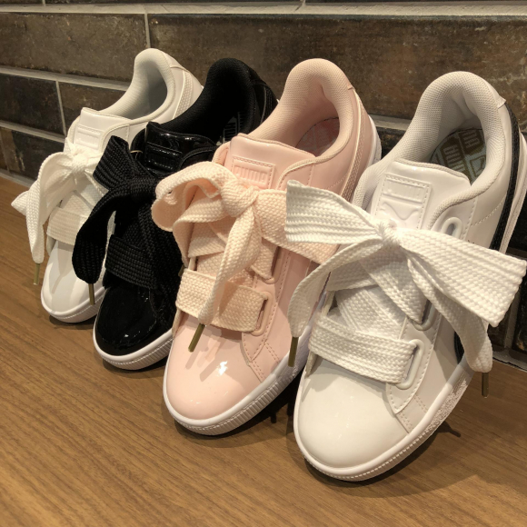 NEW COLOR!!【PUMA W BASKET HEART PATENT】