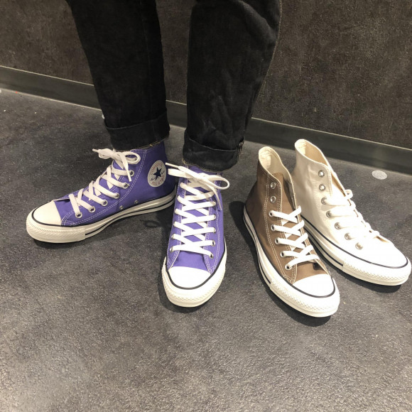 NEW!CONVERSE☆ALL STAR WASHEDCANVAS HI・OX