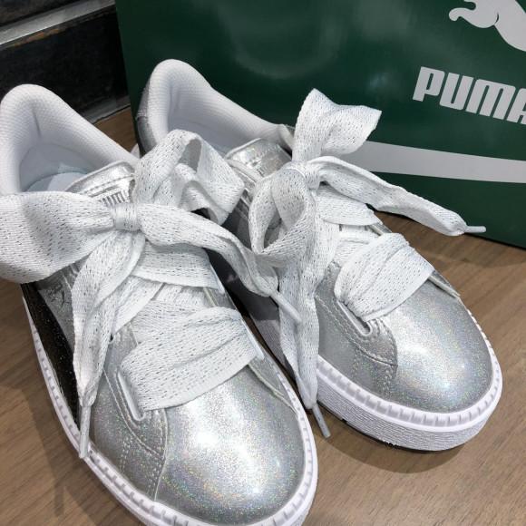 NEW!!【PUMA PLATFORM TRACE HEART GLITTR】