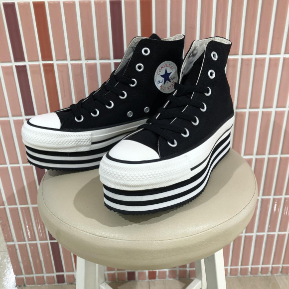 NEW!!【CONVERSE ALL STAR CHUNKYLINE HI】
