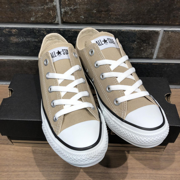 RE STOCK!!【CONVERSE ALL STAR COLORS OX BEIGE】