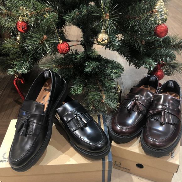 クリスマス特集☆【FRED PERRY GEORGE COX TASSEL LOAFER LEATHER】