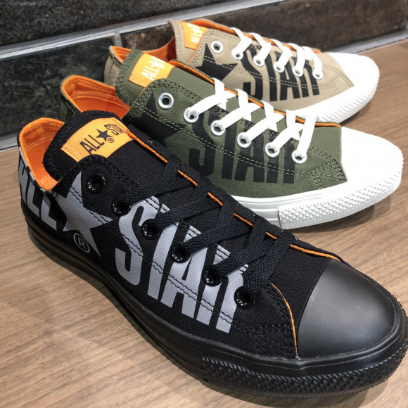 NEW!!【CONVERSE ALL STAR LIGHT BIG LOGO OX】