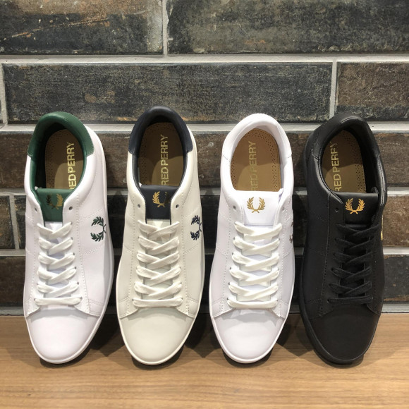 NEW!!【FRED PERRY SPENCER LEATHER】