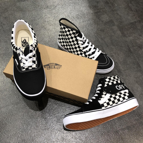 NEW!!【VANS Checker  Collection】