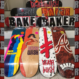 ★BAKER AND DEATHWISH SKATEBOARDS★