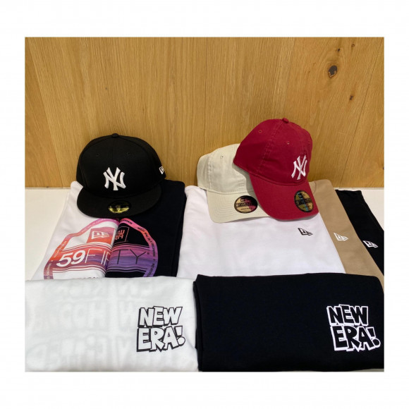 NEW ERA clothing 新商品入荷!