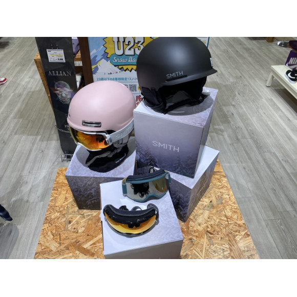 【SMITH Mips採用ヘルメット】