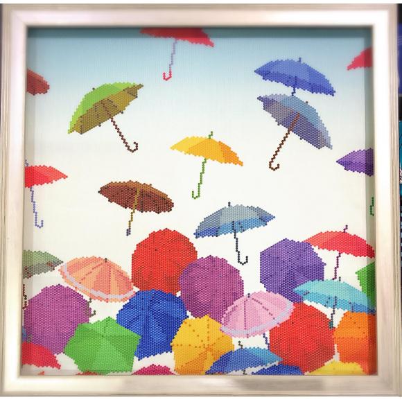雨の日もへっちゃら!カラフルアンブレラ*✲゚*。