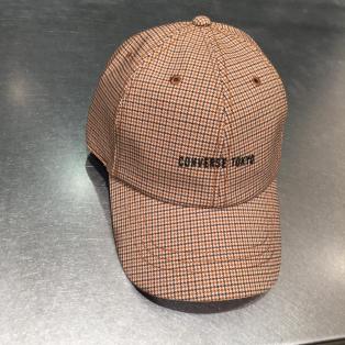 【NEW ARRIVAL】CONVERSE TOKYO  チェックロゴBB CAP