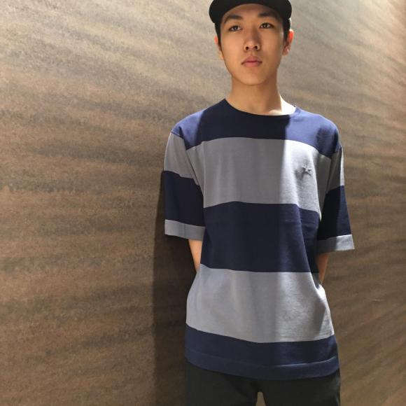 【NEW ARRIVAL】CONVERSE TOKYO 極太ボーダーニットTシャツ