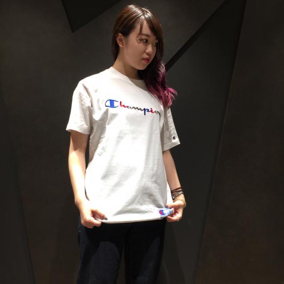 【HOT ITEMS】Champion 今季おすすめTシャツ