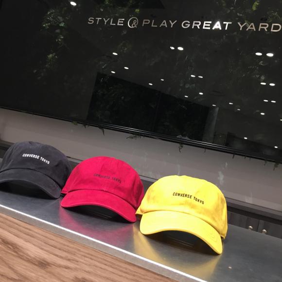 【NEW ARRIVAL】CONVERSE TOKYO ツイルロゴBB CAP