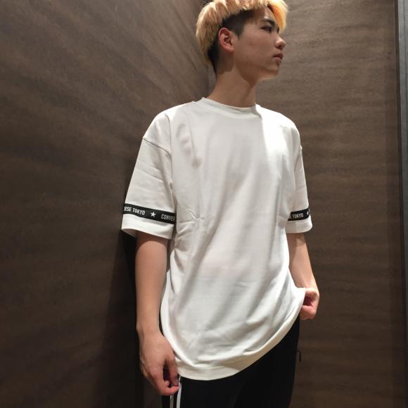 【NEW ARRIVAL】CONVERSE TOKYO 袖ラインTシャツ