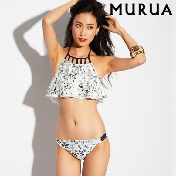 【MURUA】フレアーブラアメスリ ビキニ 9号