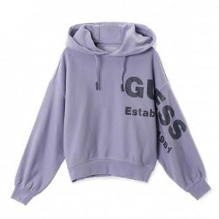 【LADYS】Big Logo Hooded Parka