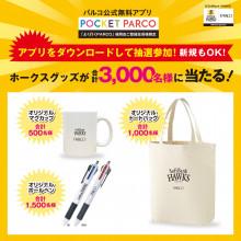 祝!ソフトバンクホークス 日本一!オリジナルグッズ抽選会!
