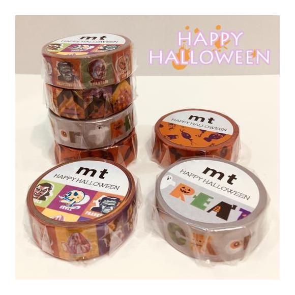 ハロウィンマスキングテープ★mtハロウィン2019