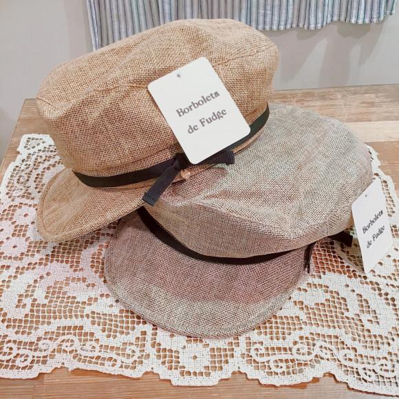 新作♩帽子