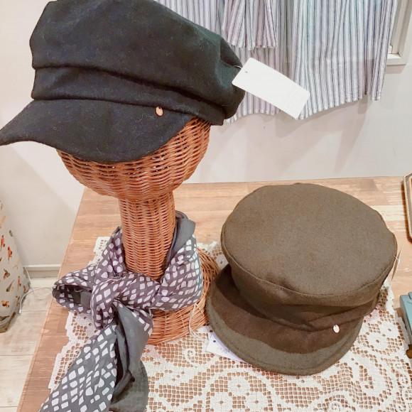 新作♡帽子