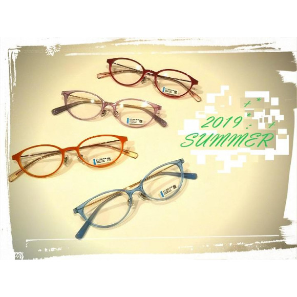 夏色なメガネはいかがですか?
