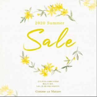 SUMMER SALE 6/26(金)スタート!