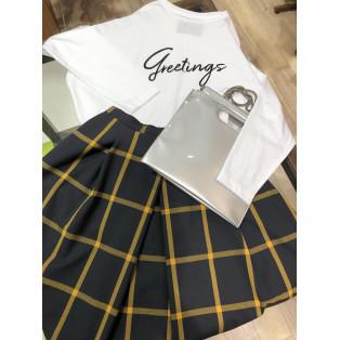 ロングプリントTシャツ
