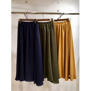 秋のとろみスカート