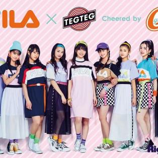 FILA×TEG TEG cheered by Girls²の大人気キッズウェア第二弾が登場!