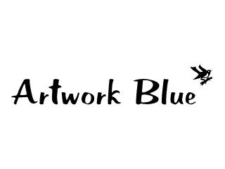 アートワークブルー