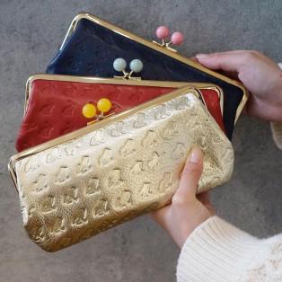 可愛い動物模様のがま口財布のご紹介♪