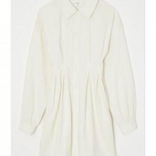 VOLUME SLEEVE SHIRTS DRESS