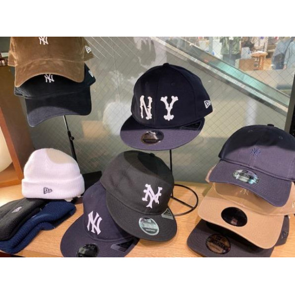 [NEWERA] 秋・冬帽子たくさん入荷!