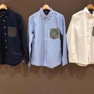 ツィードポケットデザインシャツ!